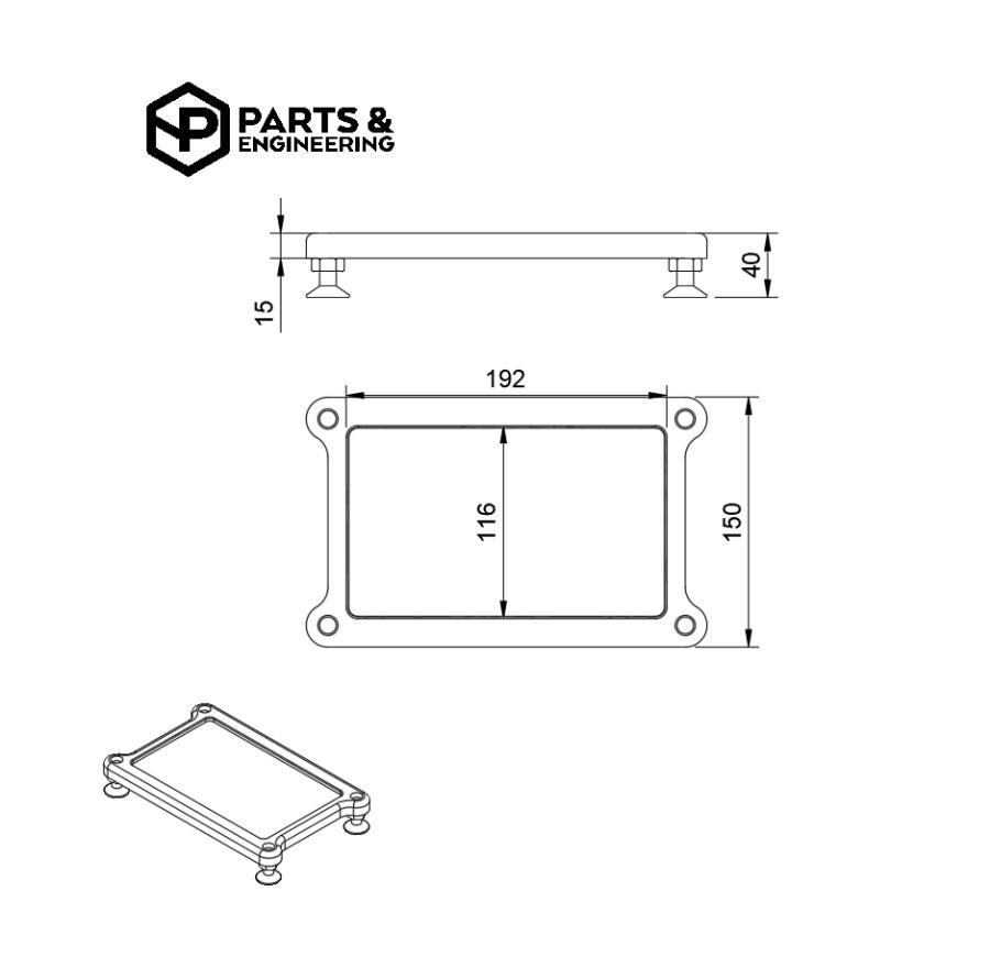 Hubstands base leveling plates
